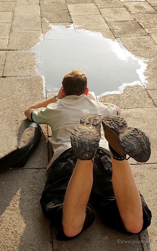 Sławek w Wenecji