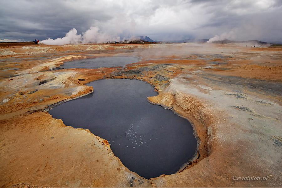 Namafjall, Islandia