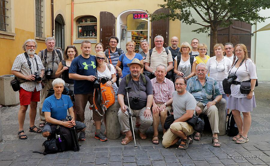 Uczestnicy warsztatów Praga od zmierzchu do świtu 2015