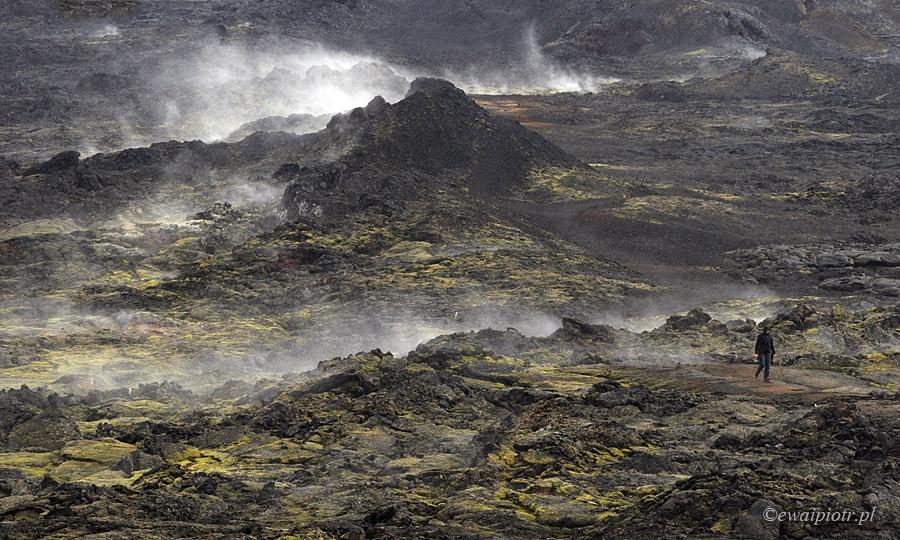 Przedsionek piekła: Pole lawowe Krafla, Islandia