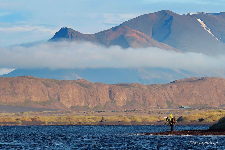 W islandzkim fiordzie