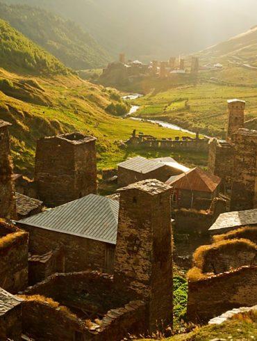 Wieże Uszguli, fotowyprawa Gruzja
