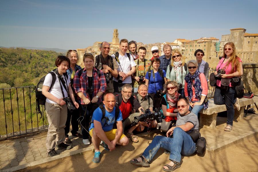 Uczestnicy fotowyprawy Toskania wiosna 2015