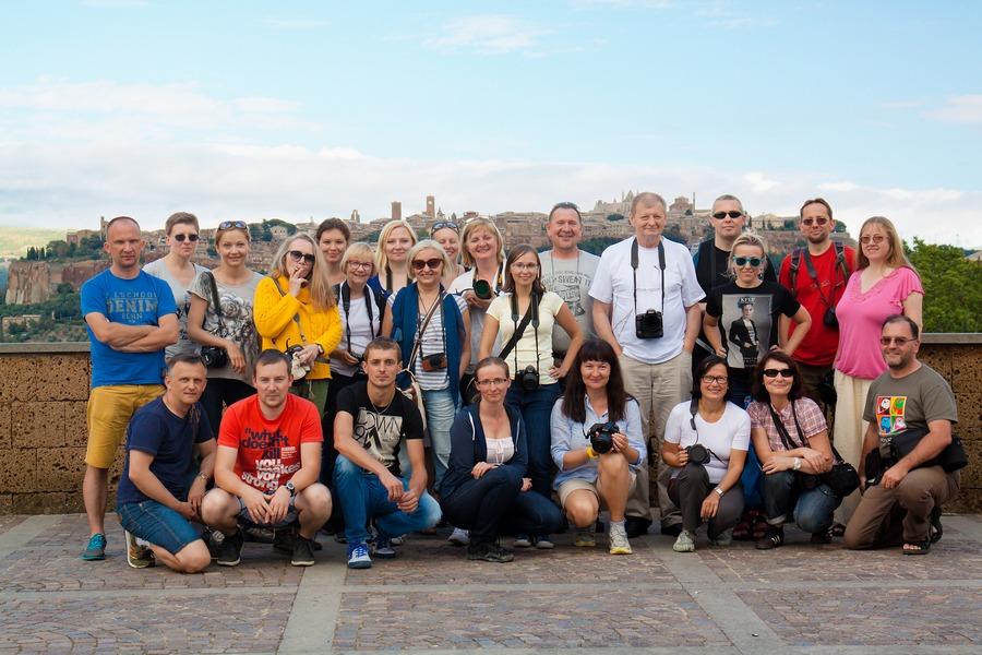 Uczestnicy fotowyprawy Toskania jesień 2014