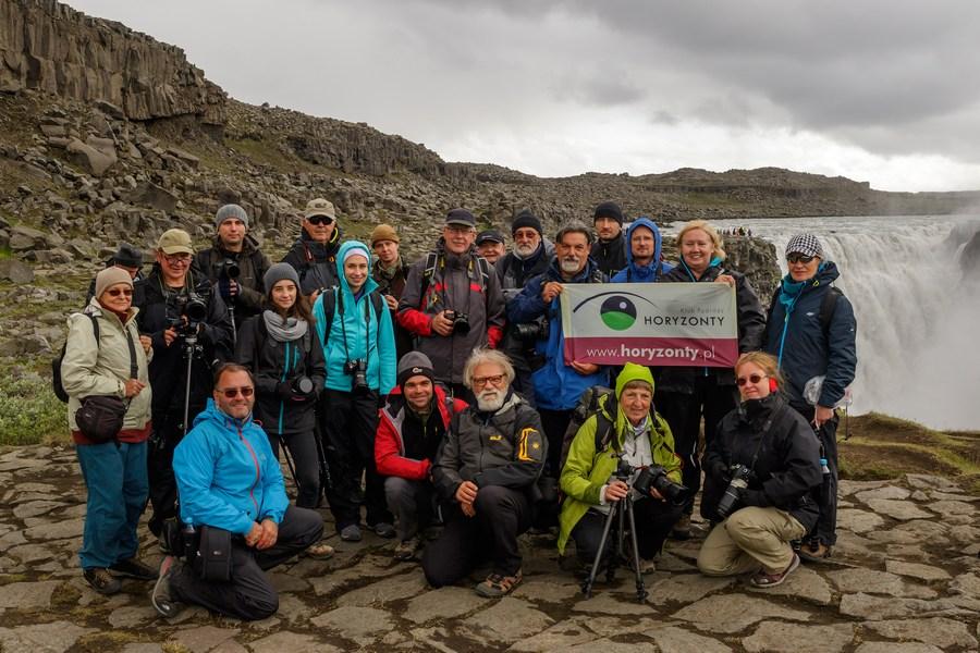 Uczestnicy fotowyprawy na Islandię 2015