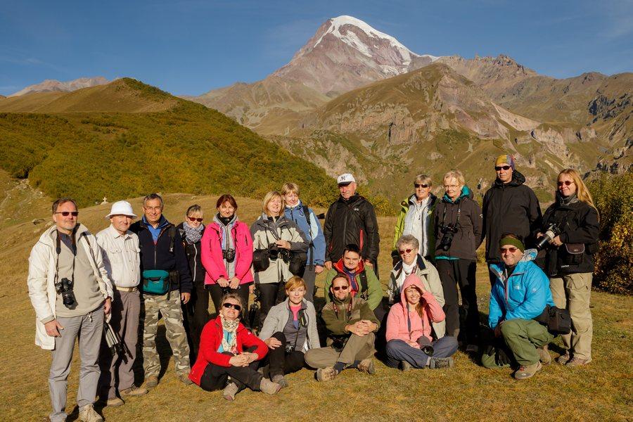 Uczestnicy fotowyprawy Gruzja 2015