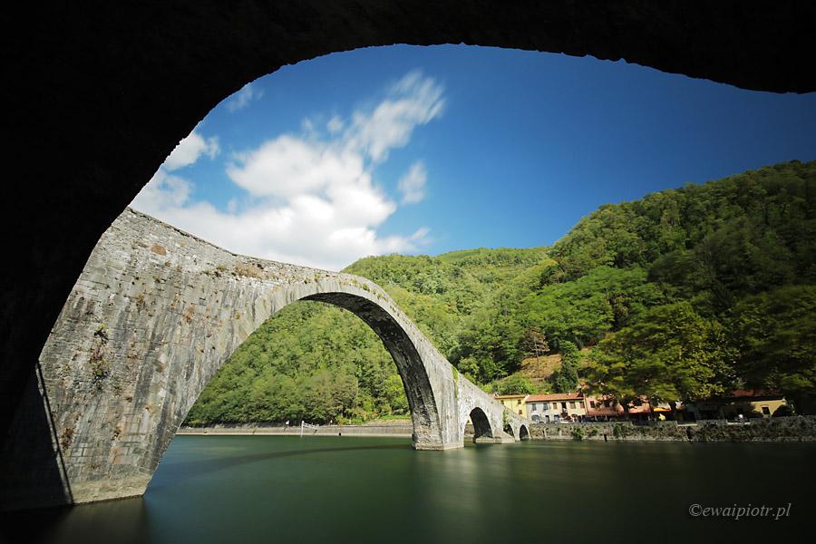 Diabelski Most, Lucca, Toskania, Włochy