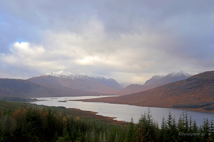 W drodze na wyspę Skye, Szkocja