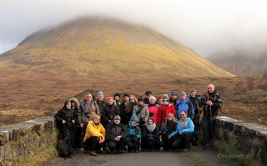 Uczestnicy fotowyprawy do Szkocji 2015