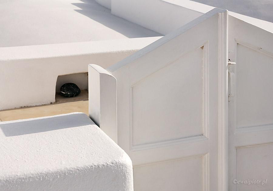 Czarne i białe: Santorini