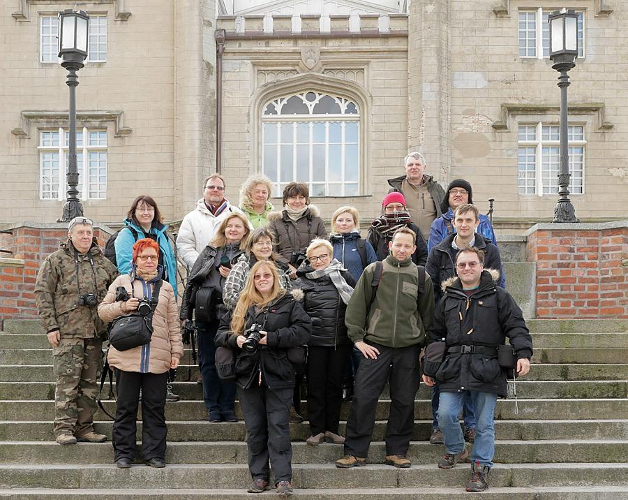 uczestnicy warsztatów w Rogalinie w styczniu 2016