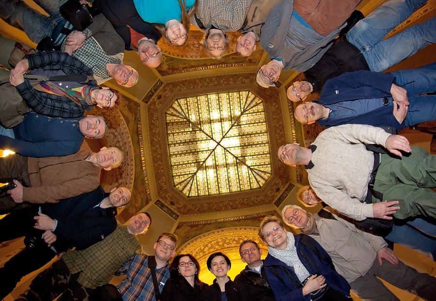 Uczestnicy warsztatów Praga 2014