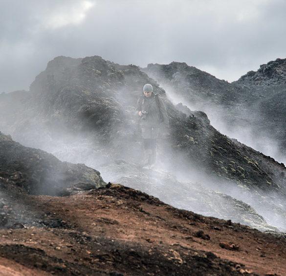 Wśród dymów, Islandia