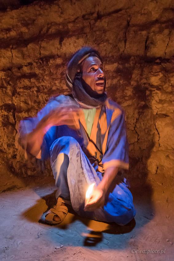 Portret w studni II, Maroko