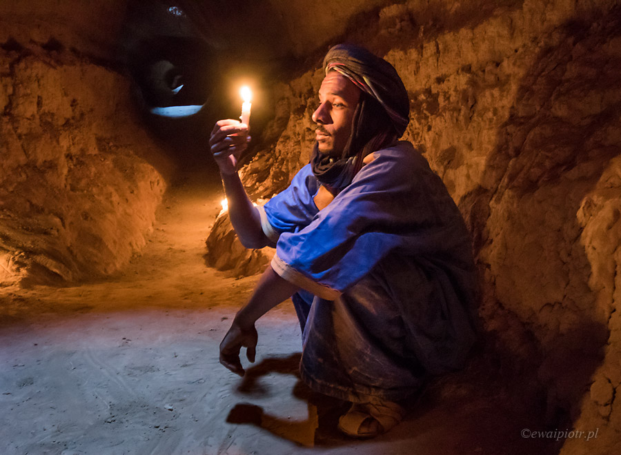 Portret w studni, Maroko