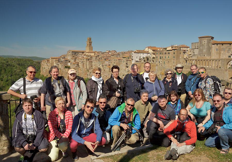 Uczestnicy fotowyprawy do Toskanii kwiecień 2016