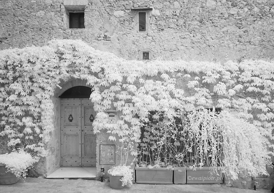 Monteriggioni w podczerwieni, Toskania