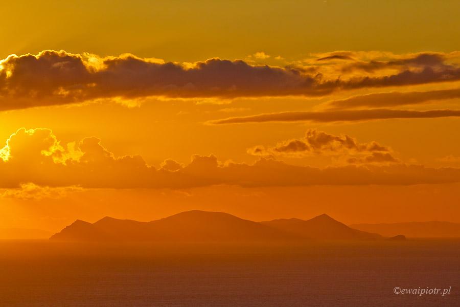 Zachód słońca z Imerovigli