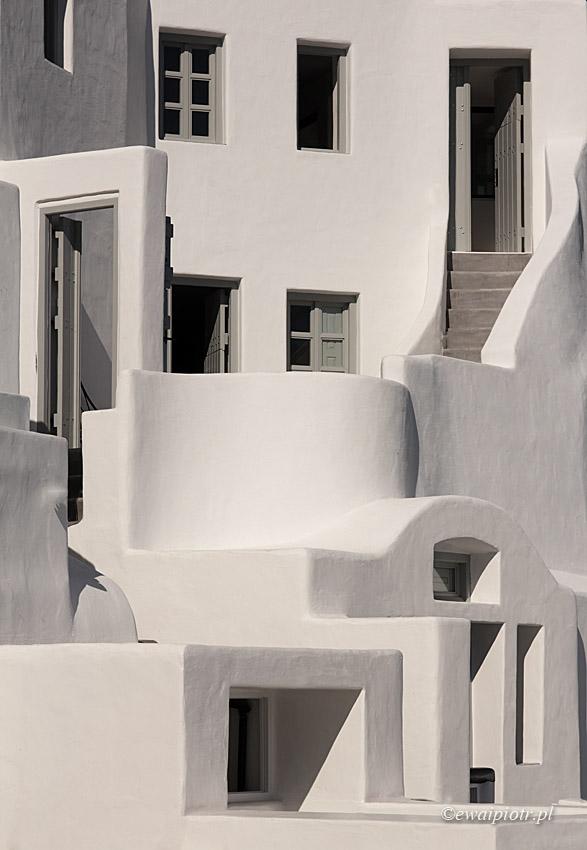 Babel na Santorini