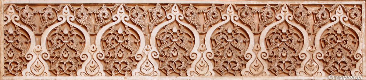 Arabeski Alhambry, Andaluzja