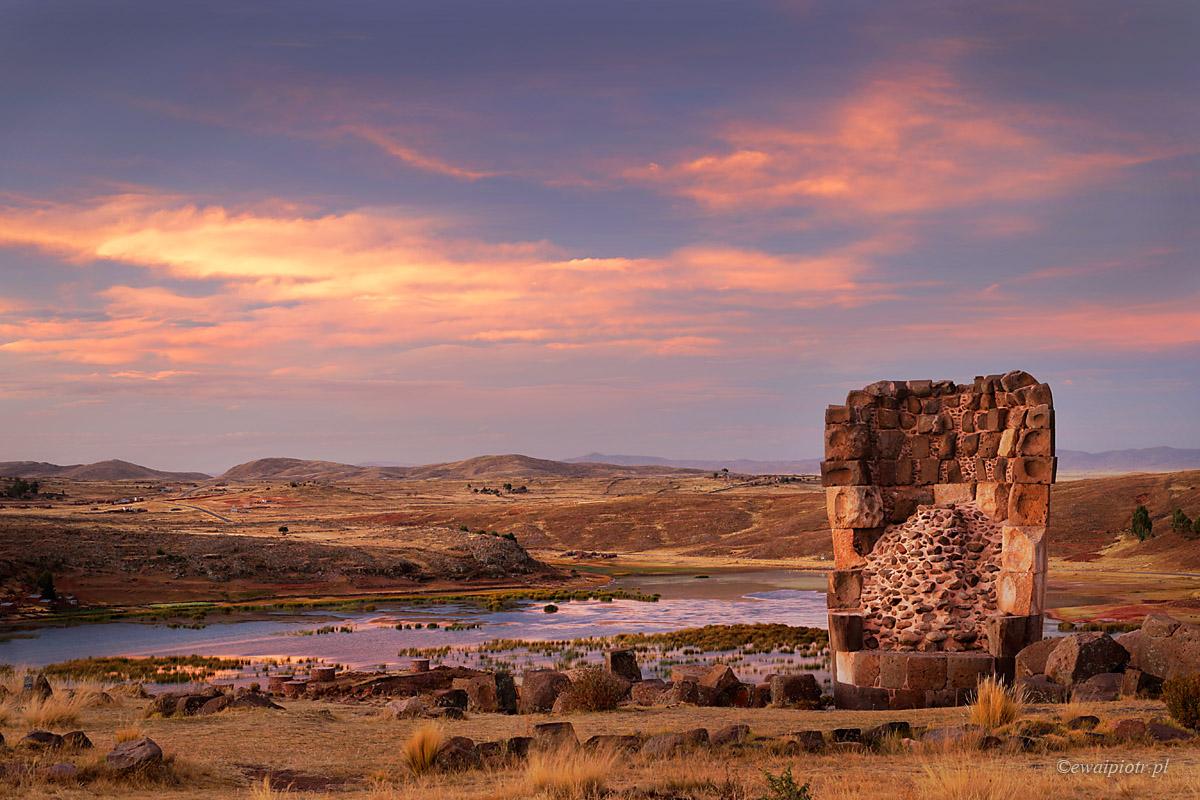Grobowce Sillustani, Peru