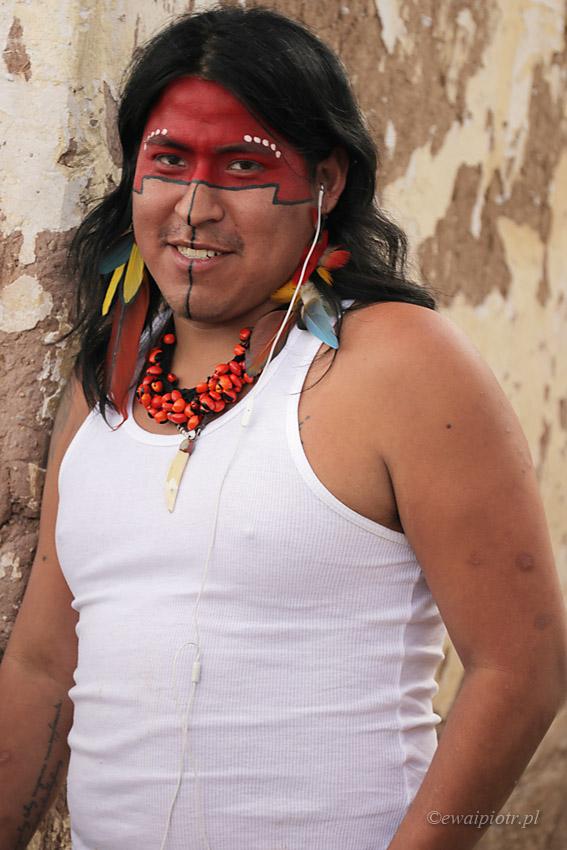Na festynie w Cuzco, Peru