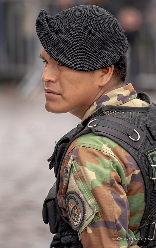 Peruwiański policjant
