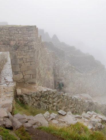 Mgły Machu Picchu
