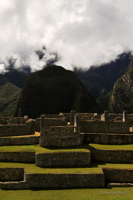 Machu Picchu i jego schody
