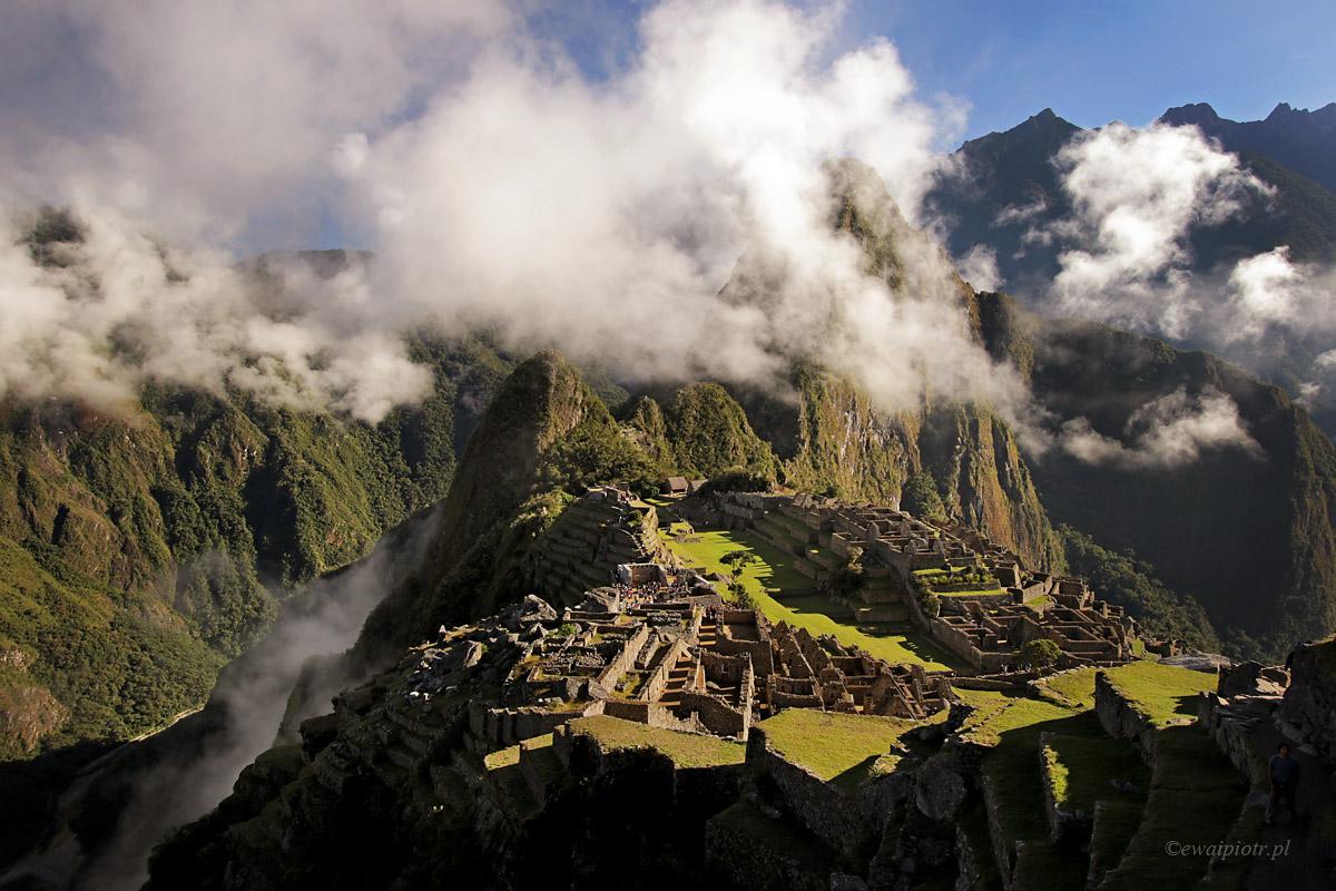 Machu Picchu o poranku