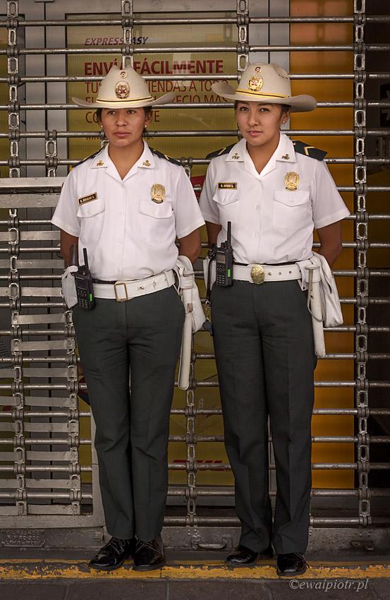 Peruwiańskie policjantki