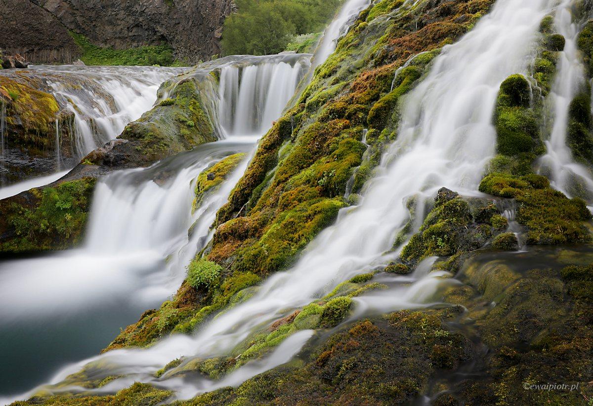 Dolina Gjain, Islandia