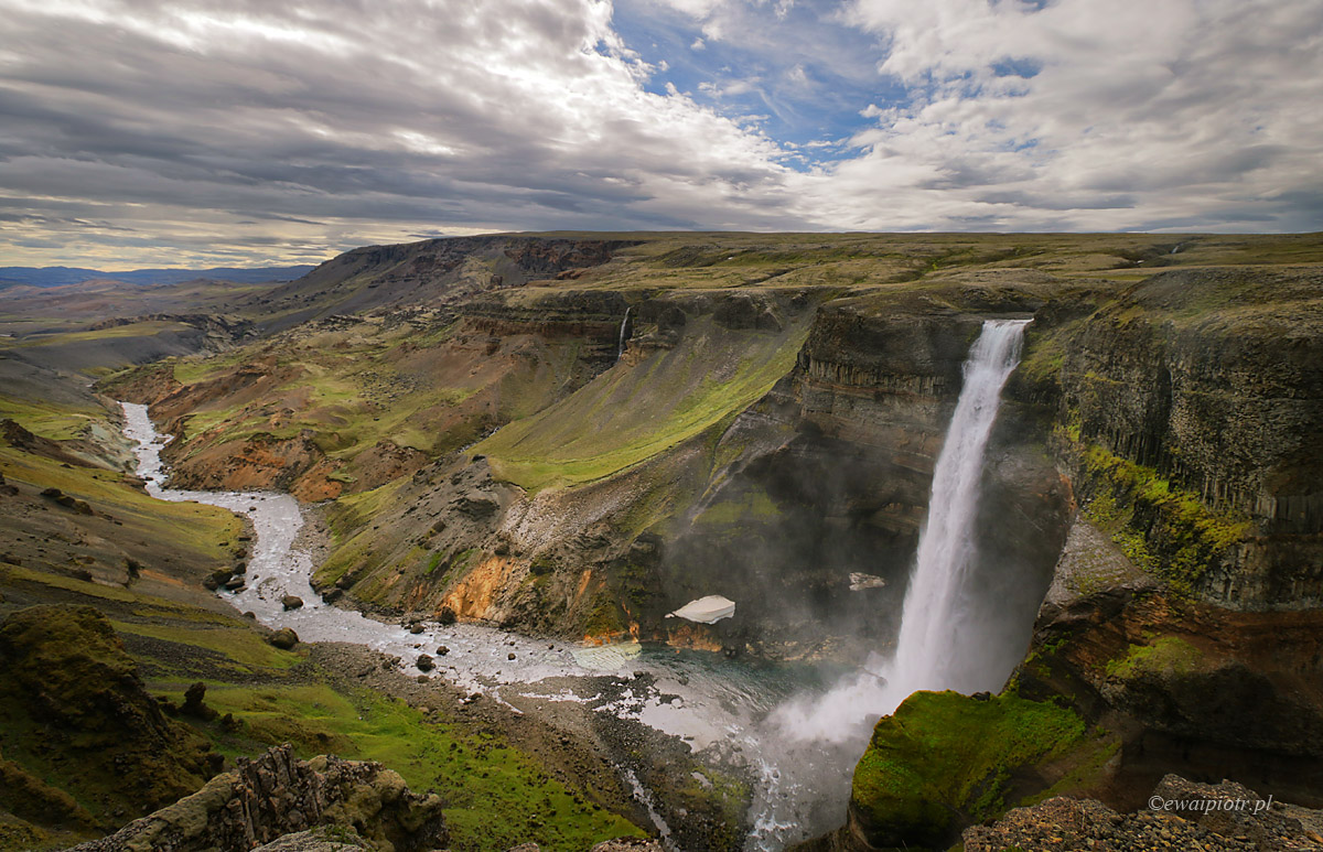 fotowyprawa Kolorowa Islandia, Haifoss, Islandia
