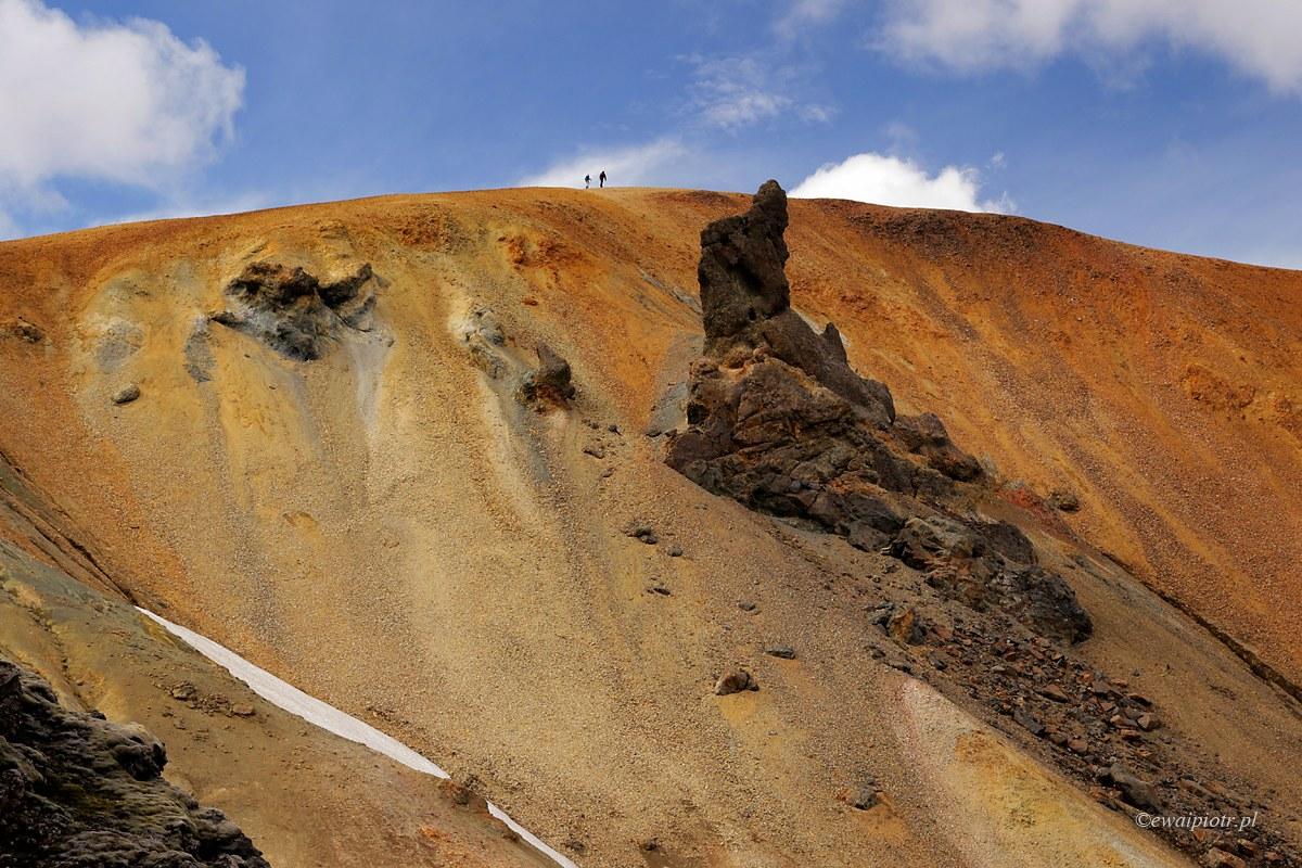 W Landmannalaugar, Islandia