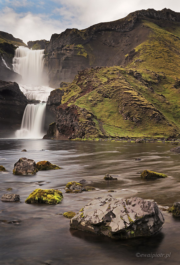 Ofaerufoss, Islandia