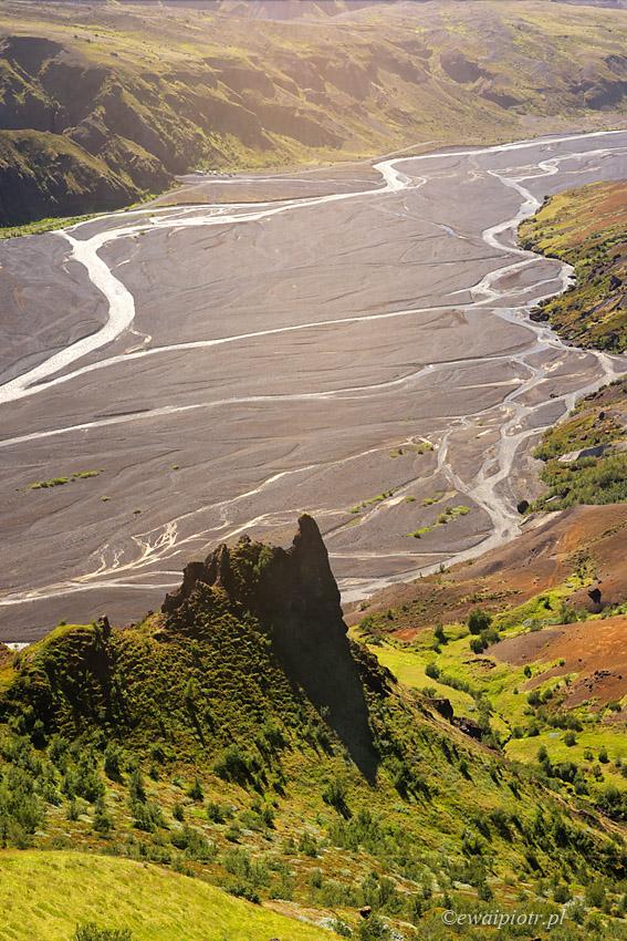 Thorsmork, Islandia