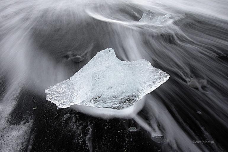 Lodowcowa Plaża, Islandia