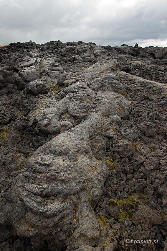 pole lawowe Krafla, Islandia