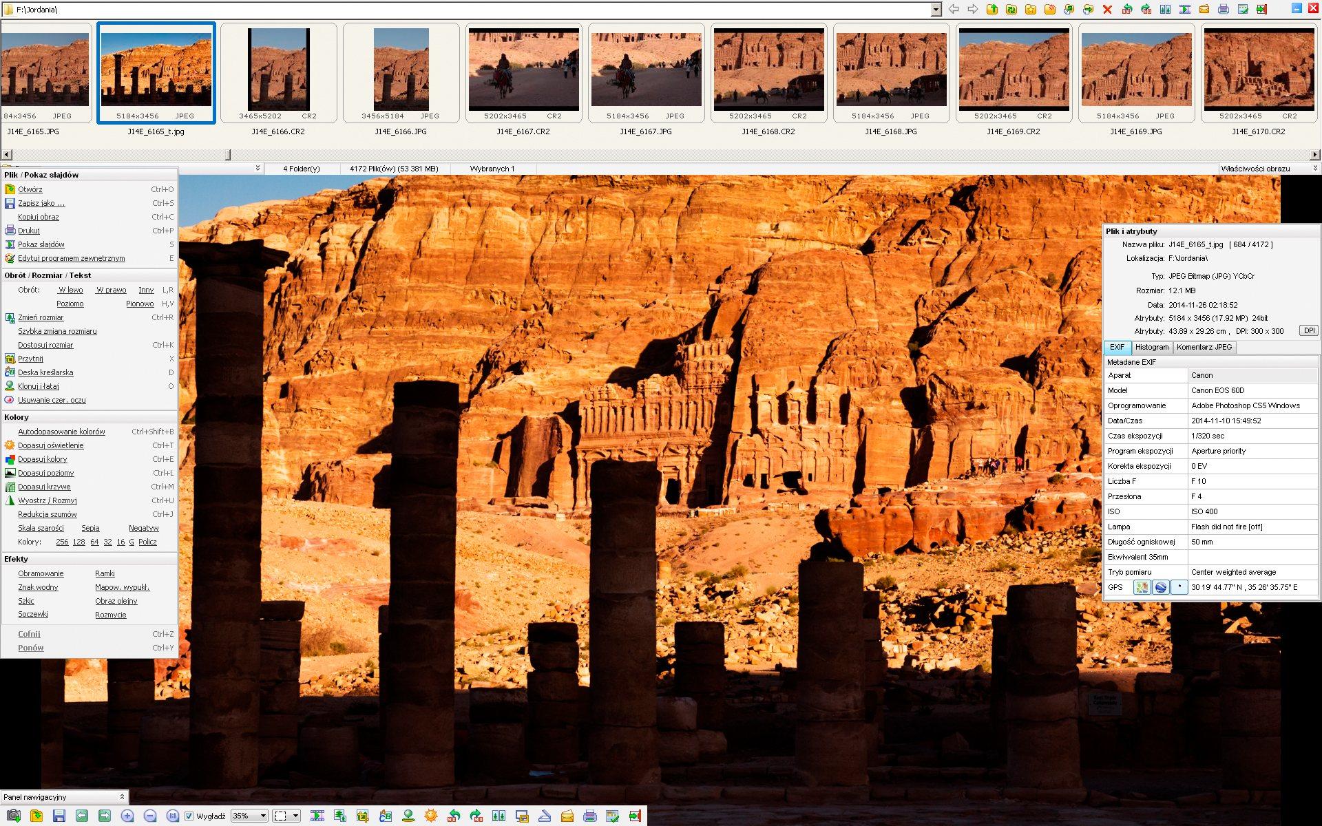 FastStone Image Viewer - najlepsza przeglądarka dla fotografa