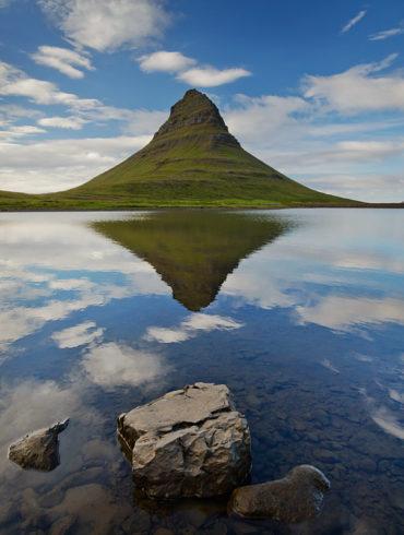 Góra Kirkjufell, Islandia
