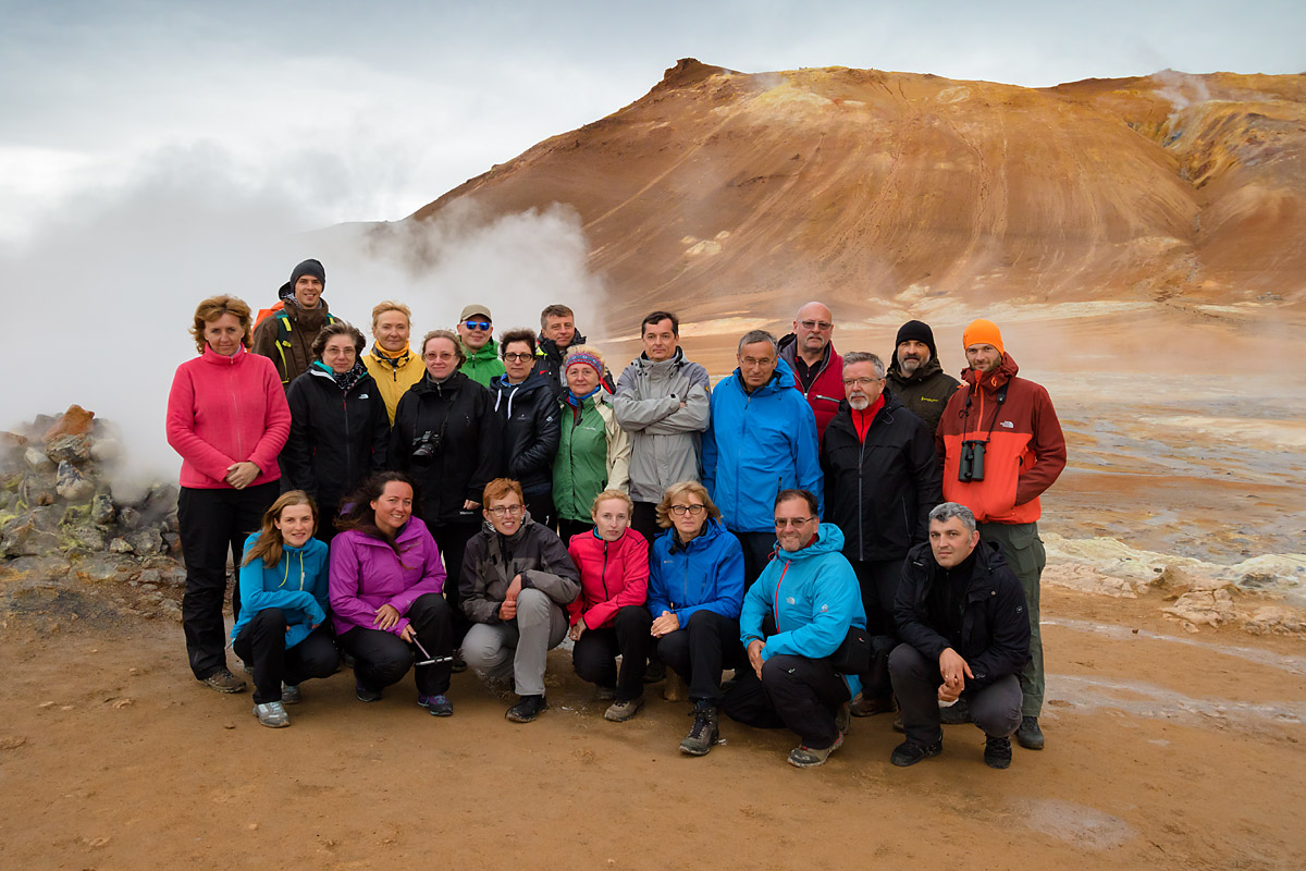 Uczestnicy fotowyprawy na Islandię 2016