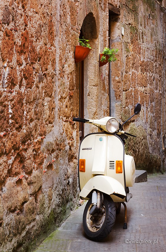 Jeżdżąc po Pitigliano