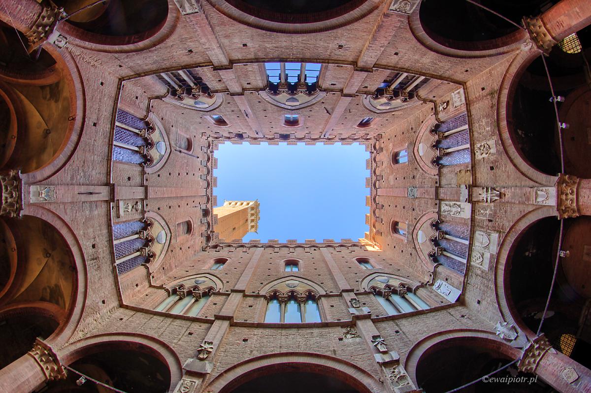 ratusz w Sienie, Toskania