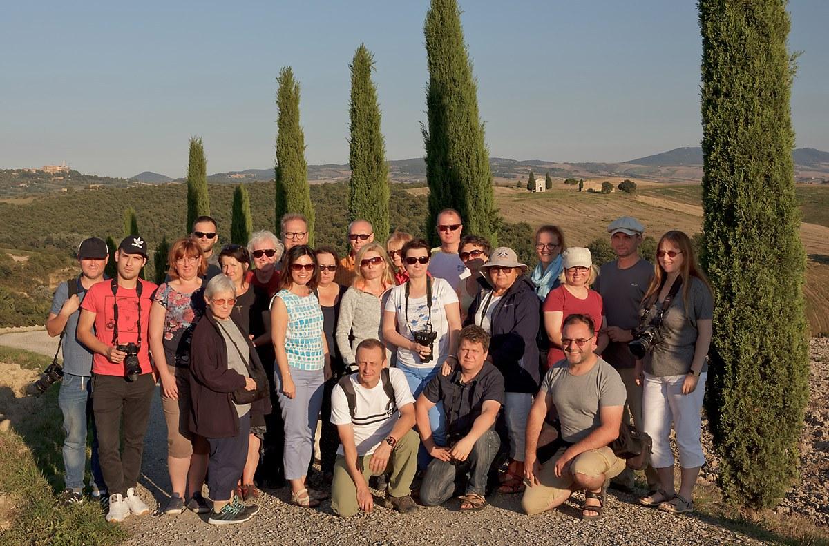 Uczestnicy fotowyprawy Toskania jesień 2016