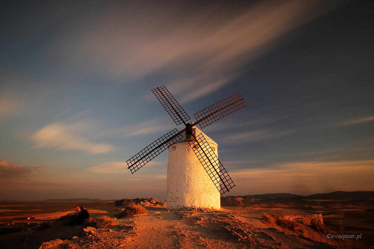 wiatrak w Consuegrze, Andaluzja