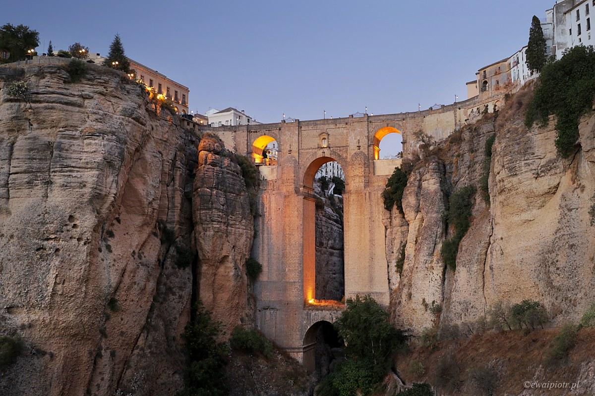 Ronda o zmierzchu, Andaluzja