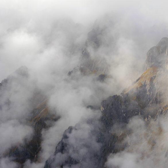 Alpy we mgle, Bawaria
