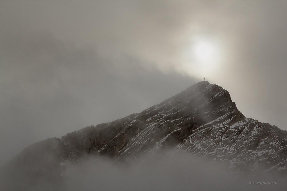 Alpy w chmurach, Bawaria