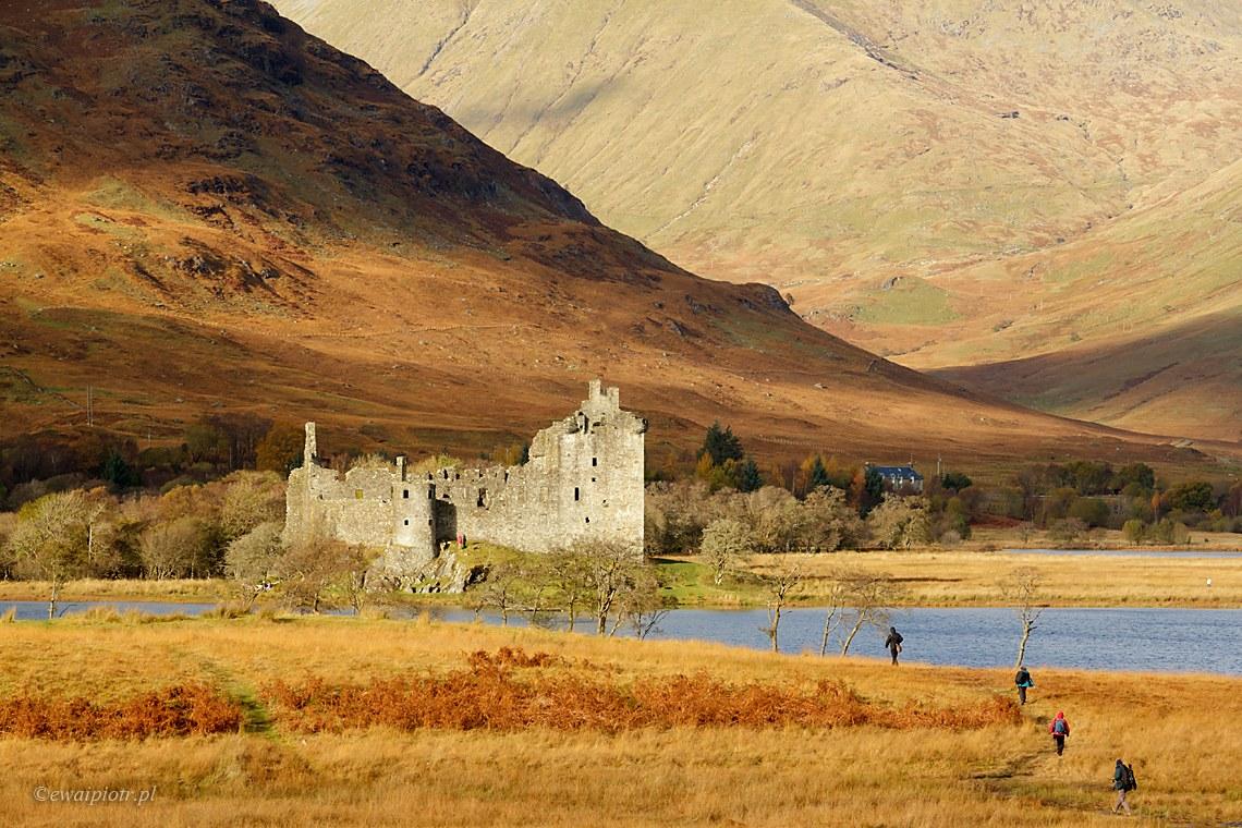 zamek Kilchurn, Szkocja