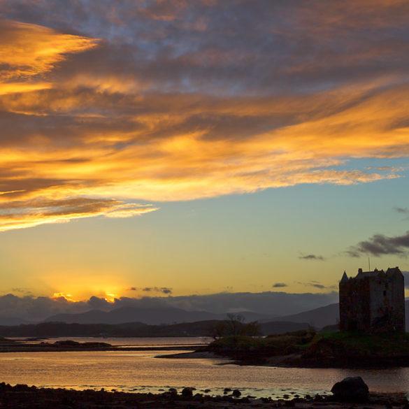 zamek Stalker, Szkocja